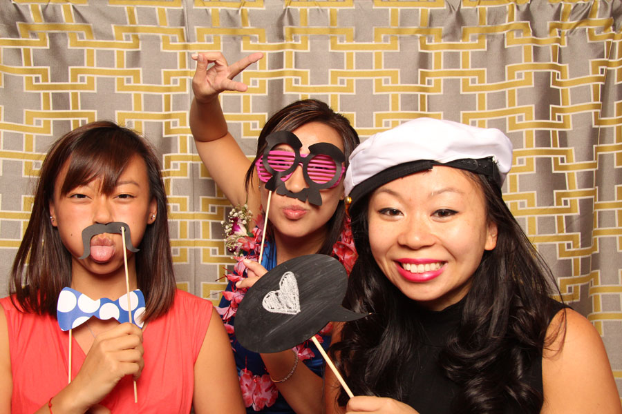 mudan celebration center queens asian chinese banquet photo booth wedding