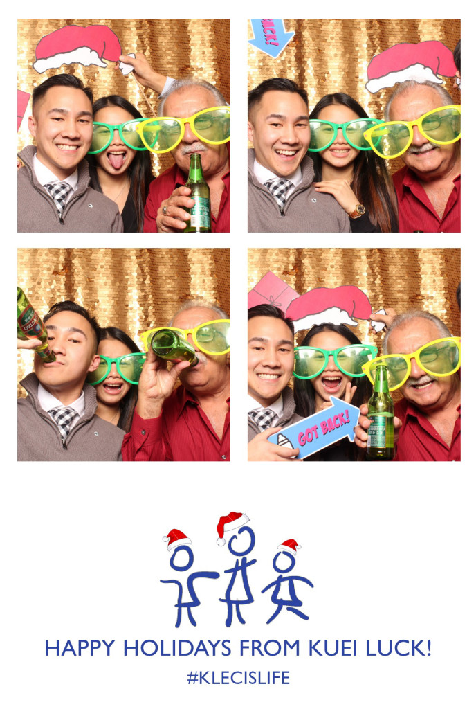 New York Holiday Party Photo Booth Events