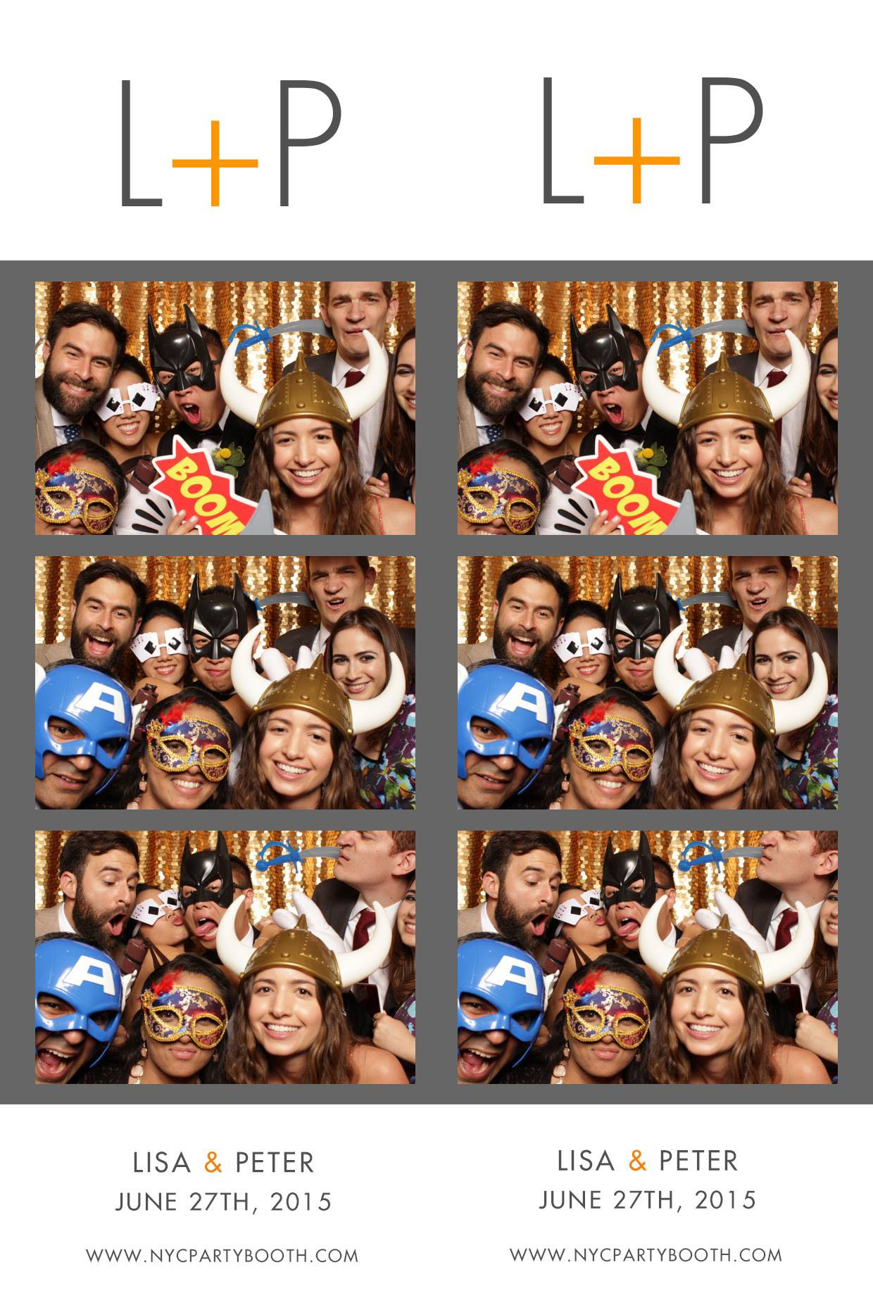Wedding Lisa Peter Nyc Party Booth Photo Booth